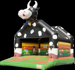 Springkussen koe